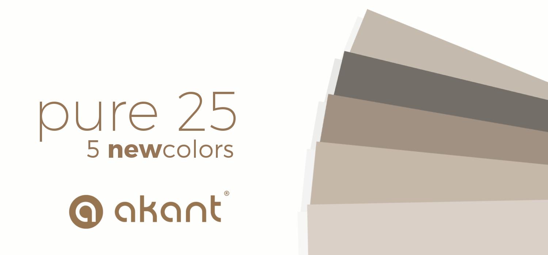 Nowe kolory żaluzji drewnianej 25mm