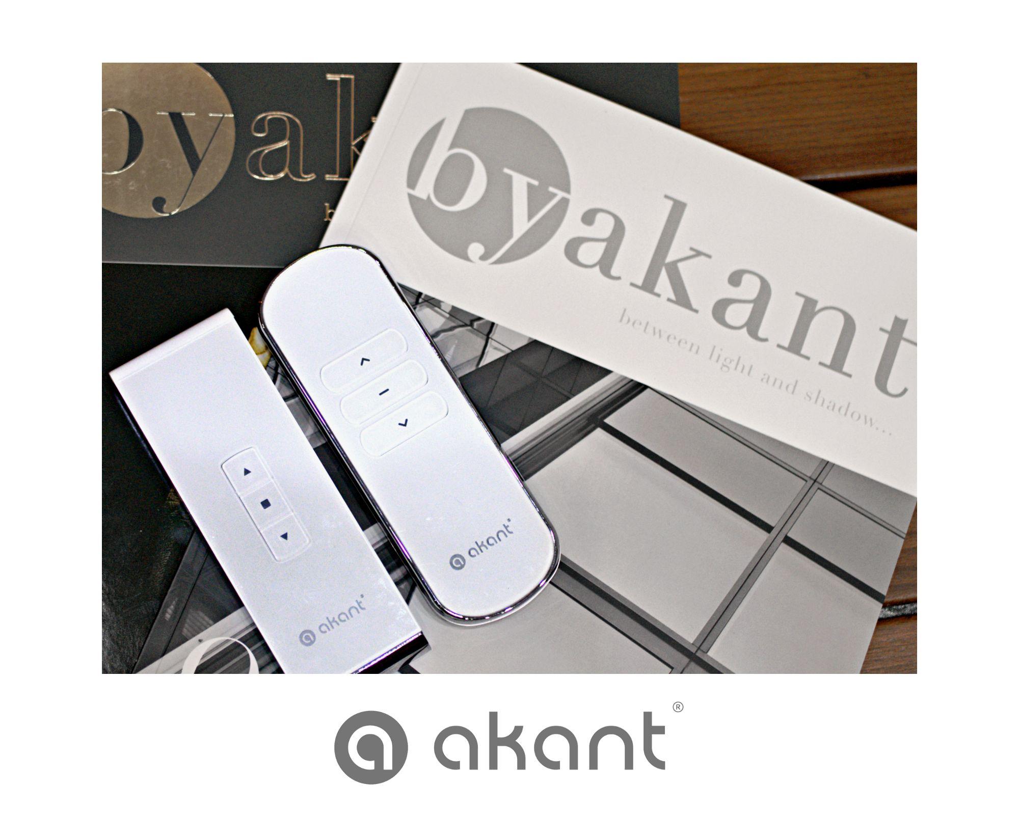 Piloty Akant to komfort użytkowania i znakomity design