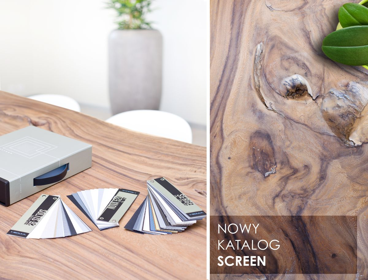 Premiera katalogu z tkaninami screen